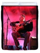 Turab Guitar Player Victor Kawas Duvet Cover