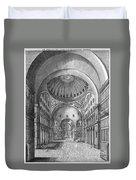 Turkey: Hagia Sophia, 1680 Duvet Cover