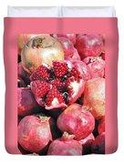Turkish Pomegrants Duvet Cover