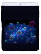 Turn Off The Bubble Machine Duvet Cover
