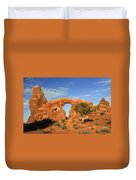 Turret Arch Duvet Cover