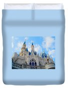 Turrets And Spires Duvet Cover
