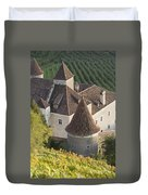 Turrets Schloss Goldrain Duvet Cover