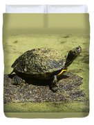 Turtle Camouflage Duvet Cover