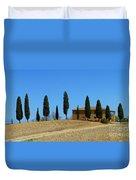 Tuscan House  I Cipressini/italy/europe  Duvet Cover