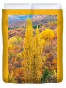 Tuscany Landscape  Duvet Cover