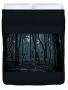 Twilight In The Smouldering Forest Duvet Cover