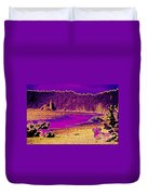 Twilight On La Push Beach Duvet Cover