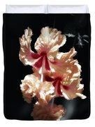 Twin Beauty Hibiscus Duvet Cover