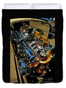 Twin Engines Duvet Cover