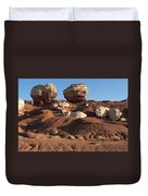Twin Rocks Capitol Reef Np Duvet Cover