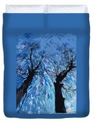 Twin Trees Duvet Cover