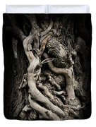 Twisted Dreams Duvet Cover by Mary Machare