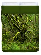 Twisted Rain Forest Duvet Cover