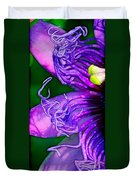 Twisted Shadows Duvet Cover by Judi Bagwell
