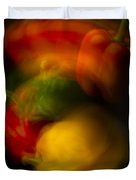 Twisting Peppers Duvet Cover