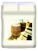 Two Barrels 2 Duvet Cover
