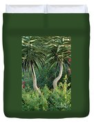 Two Bent Trees Duvet Cover