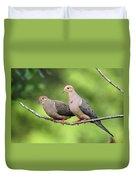 Two Doves Duvet Cover