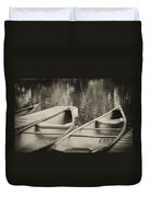 Two For The Lake Duvet Cover
