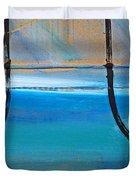 Two Kimono Tsunami Duvet Cover