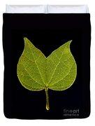 Two Lobed Leaf Duvet Cover