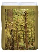 Waltzing In The Rainforest Duvet Cover