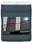 Two Windows Duvet Cover