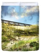 Tybee Island Dunes No.2 Duvet Cover