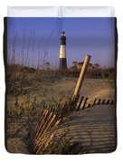 Tybee Island Lighthouse - Fs000812 Duvet Cover