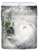 Typhoon Prapiroon Duvet Cover