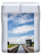 Typical Dutch Lock And Control Room Duvet Cover