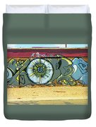 Typical Urban Fence 3 Duvet Cover
