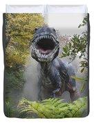 Tyrannosaurus Duvet Cover