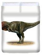 Tyrannosaurus Rex, A Prehistoric Era Duvet Cover