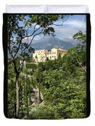 Tyrolean Alps And Palace Duvet Cover