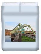 Uhlerstown Frenchtown Bridge Duvet Cover