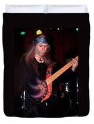 Uli Jon Roth And His Sky Guitar Duvet Cover