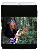 Uli Jon Roth At Muir Woods Duvet Cover