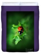 Ultra Electro Magnetic Single Ladybug Duvet Cover
