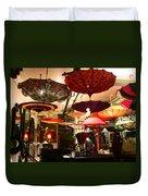 Umbrella Art Duvet Cover