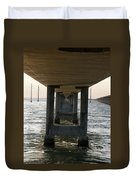 Under Seven Mile Bridge Duvet Cover