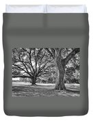 Under The Oaks Duvet Cover