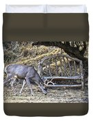 Under The Old Apple Tree Duvet Cover