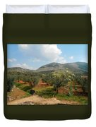 Under The Tuscan Skies Duvet Cover