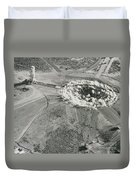 Underground Atomic Bomb Test Duvet Cover