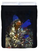 Underwater Bouquet Formed By Cluster Duvet Cover