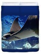 Underwater Flight Duvet Cover