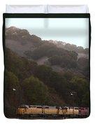 Union Pacific Locomotive Trains . 7d10553 Duvet Cover