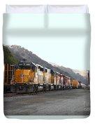 Union Pacific Locomotive Trains . 7d10561 Duvet Cover